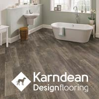 Karndean Designflooring Waterproof Luxury Vinyl flooring offers some of the most stunning styles and colors in the industry! Visit our showroom where you're sure to find flooring you love at a price you can afford!